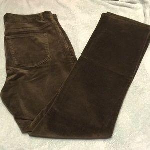 Chaps Pants - Beautiful green corduroys